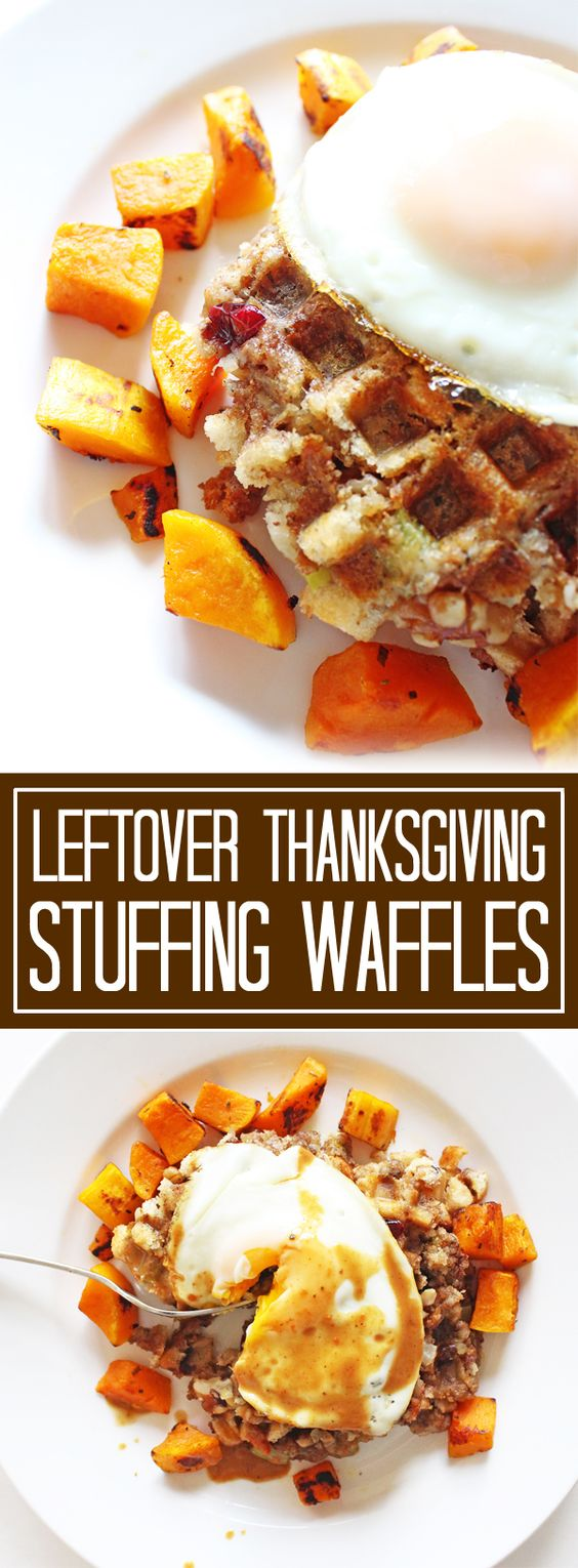 leftover-thanksgiving-stuffing-waffles